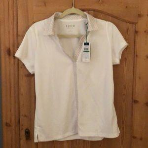 Izod Golf /Tennis Collard v-neck t shirt